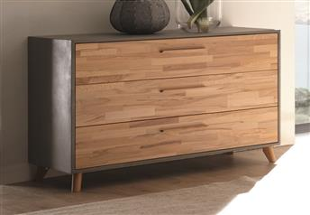 Hasena Casia Chest of Drawers Solid Beech, Oak or Walnut