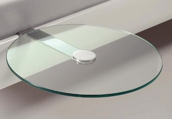 Hasena Ablo Jero - Glass Bedside Table