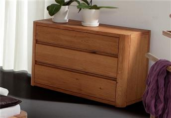 Hasena Aida - Modern Solid Oak Chest of Drawers