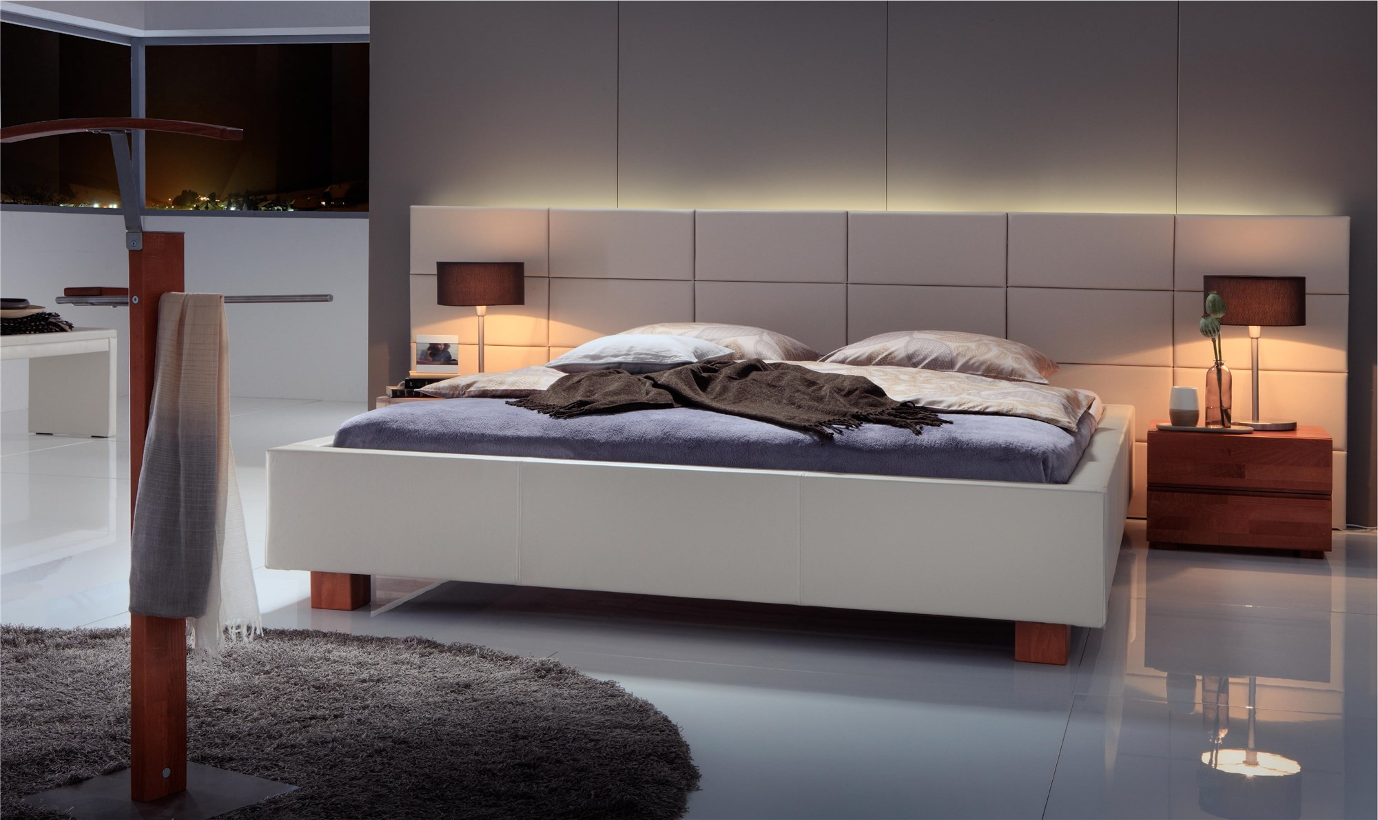 hasena dreamline ivio opio 3l fundina real leather. Black Bedroom Furniture Sets. Home Design Ideas