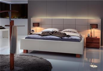 Hasena Ivio Opio 3L - Genuine Leather Designer Bed