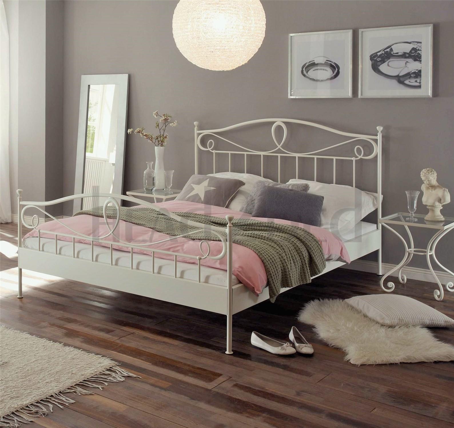 Design Wrought Iron Bed hasena romantic lurano solid wrought iron bed head2bed uk bed