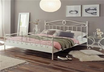 Hasena Lurano - Solid Wrought Iron Bed