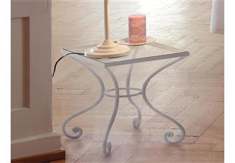 Hasena Cura Wrought Iron Bedside Table