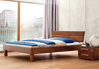 Hasena Cantu Duetto - Solid Beech Bed