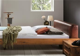 Hasena Vilo Ceneri - Solid Oak Bed