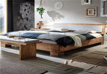 Hasena Onito Alpa - Character Solid Oak Bed * Vintage Finish *