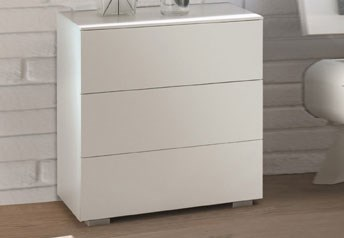 Hasena Triore 3-drawer bedside table