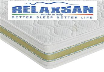 Relaxsan Waterlatex Deluxe 20cm Deep Mattress - Medium Support