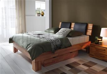 Hasena Massa Duetto Suny - Solid Beech Box Sprung Bed