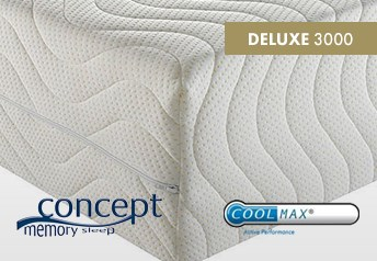 Concept Memory DELUXE 3000 20cm Mattress Medium-Firm