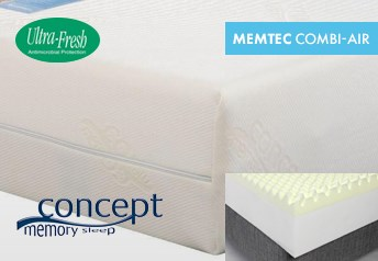 Concept Memory MEMTEC Combi-Air 21cm Mattress Medium-Firm