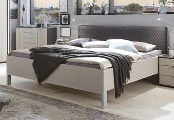 Stylform ISOLDE Contemporary BedFaux Leather Headboard