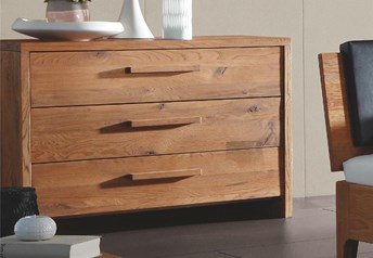 Hasena Cessa - Solid Oak XL Chest of Drawers