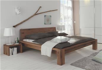Hasena Cobo Cortina Sion - Solid Oak Bed  with 20cm H legs