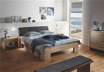Hasena Cova Elipsa - Solid Oak Bed