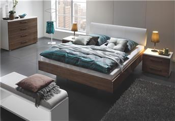 Hasena Vilo Elipsa - Genuine Leather Bed