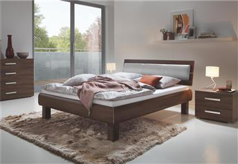 Hasena Ivio Nuetta Lumo - Real Leather Modern Bed