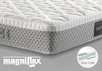 Magniflex Dolce Vita Comfort Dual 10 Memory Foam 25cm Deep MattressDual Side Support - Medium Firm/Medium Soft Support