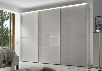 Domus Melody Two - 113-400cm Sliding Door Wardrobewith optional mirrored doors
