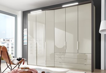 Stylform VENUS - 183-333cm Wardrobeglass doors