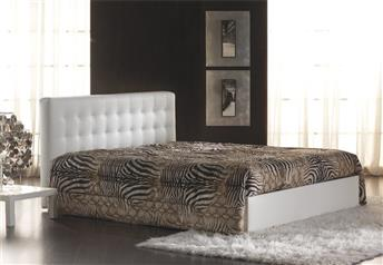 Quarrata AMALFI Italian Real Leather Bed