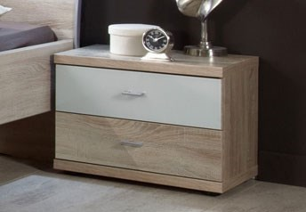 Stylform ARTEMIS - 2  Drawer Bedside Table