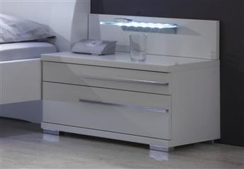 Stylform EOS - 2 Drawer Bedside