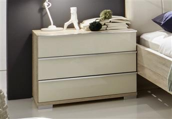 Stylform VIP - 3 Drawer Bedside Table