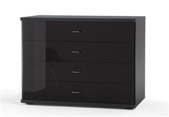 Stylform Artemis Small Chest of Drawers with Glass Fronts