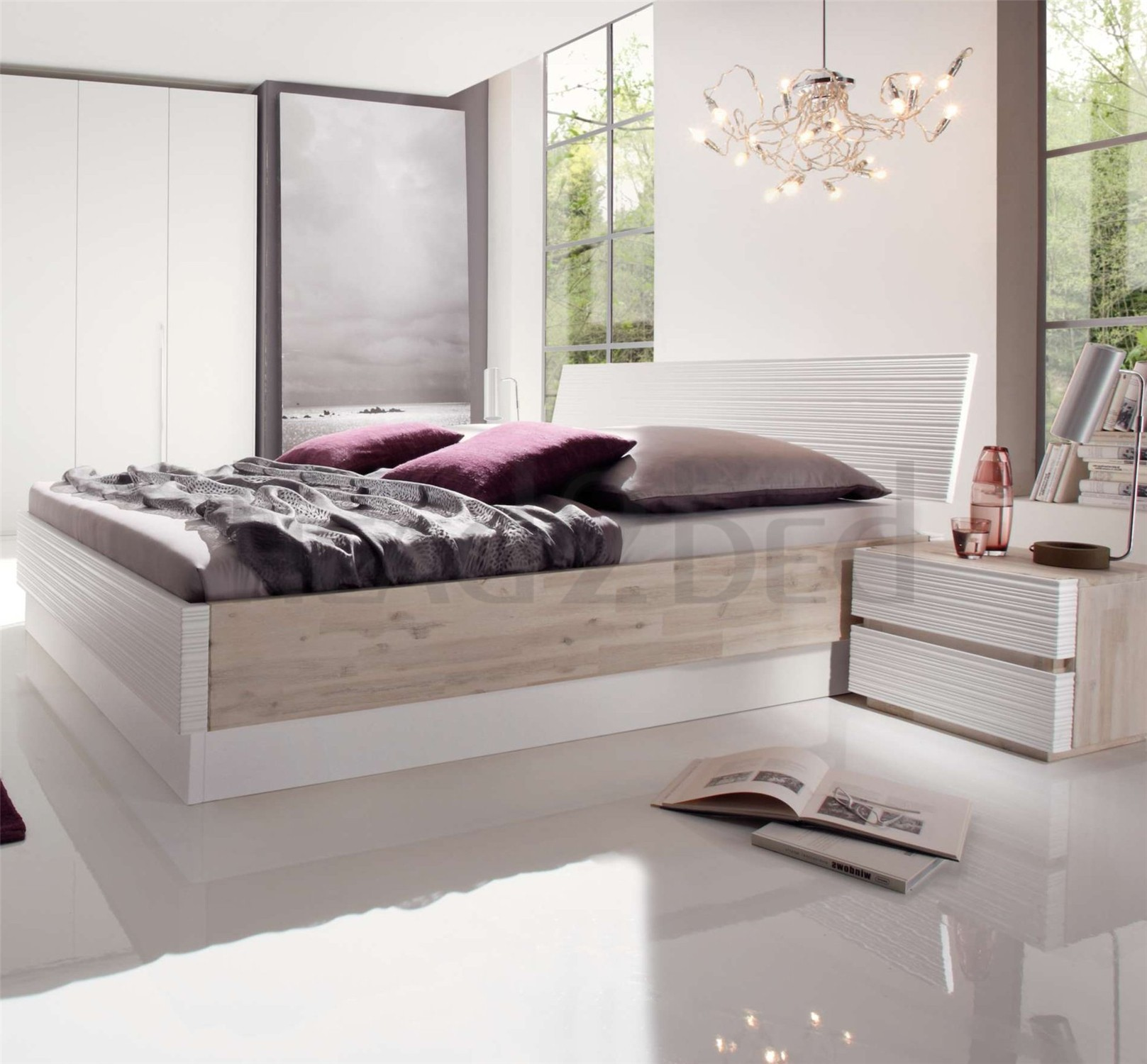 Coco Queen Storage Bed C6413aDownload Picturesque Design