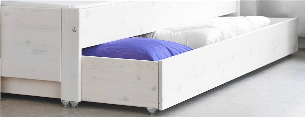 to under the image drawers bed white rolling of tips make raindance designs storage