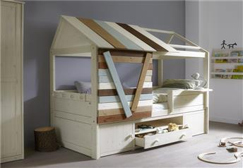 Lifetime Kidsrooms - Children's Tree House Solid Wood - Cabin bed version - with Storage or extra beds