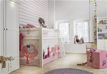 Lifetime Little Princess - Solid Wood Mid Sleeper