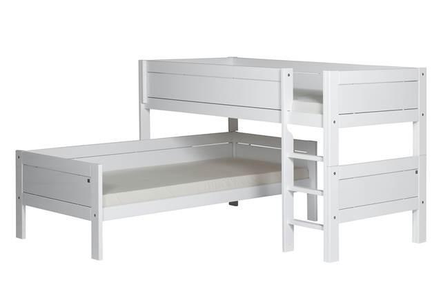 Lifetime Kidsroom Children S Bunk Bed Modern Solid Wood Bed With Optional Storage Head2bed Uk