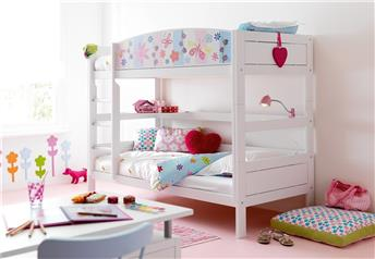 Lifetime Kidsrooms - Bunk Bed Solid - MORE THEMED FRONTS - OPTIONAL STORAGE