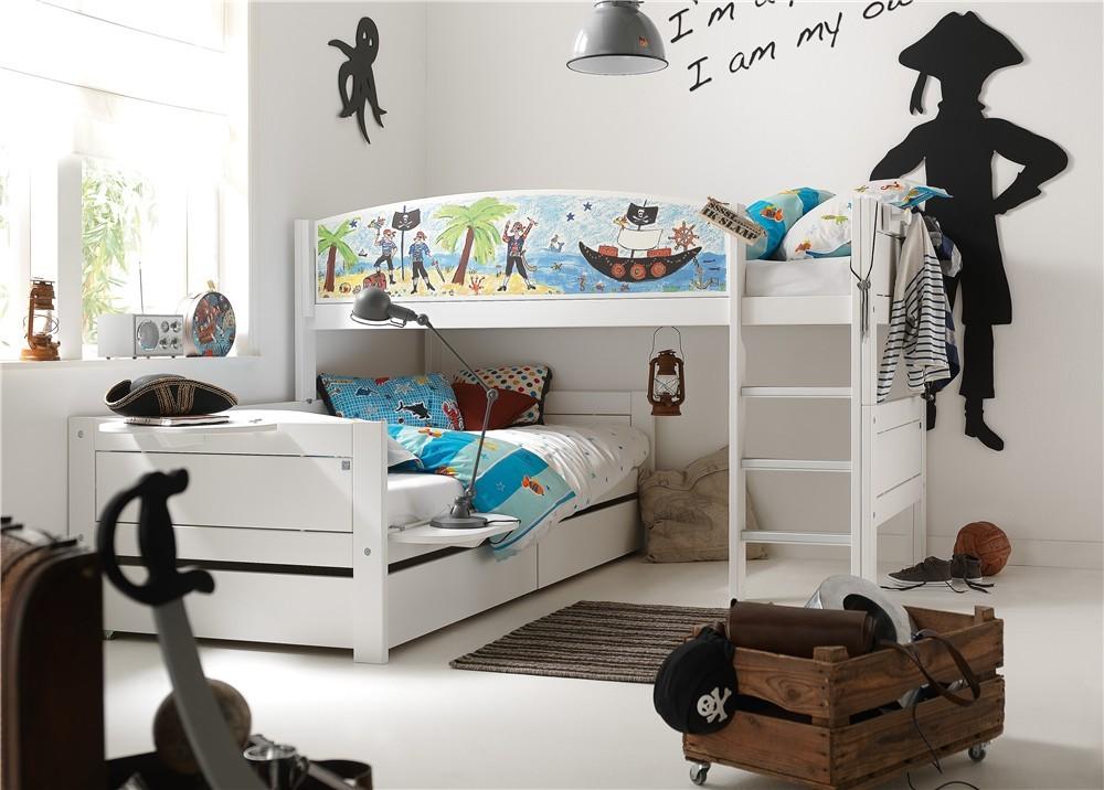 Lifetime Kidsroom Pirate Corner Solid Wood Bunk Bed Head2bed Uk