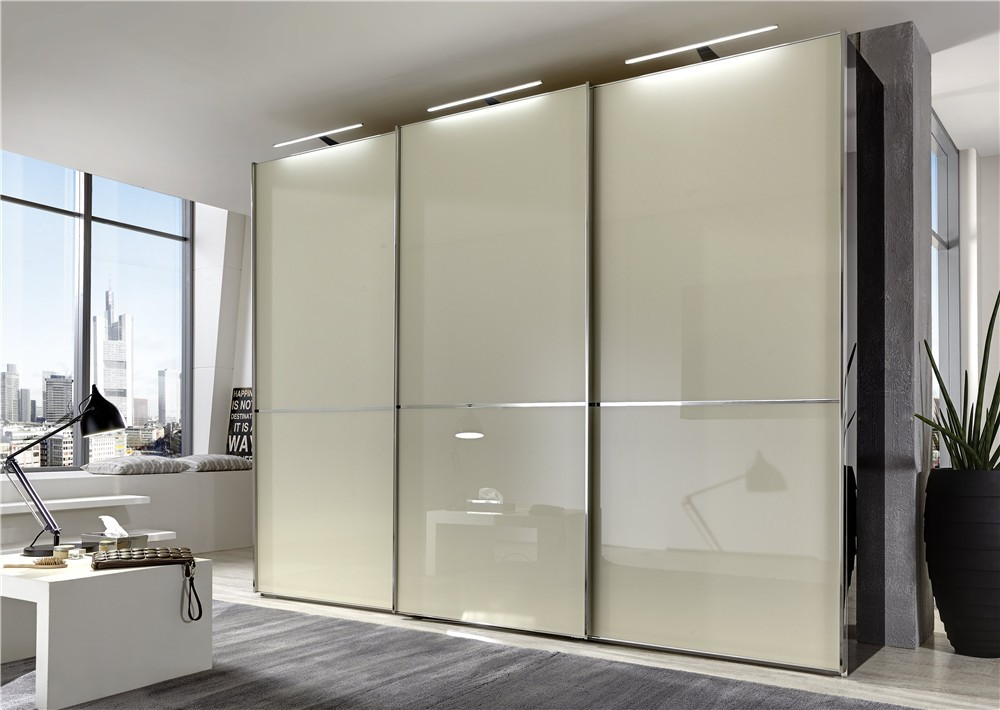 Stylform Nyx 250 400cm Glass Mirrored Sliding Wardrobe