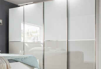 NYX by Stylform - Choice of Glass Doors - Sliding Door Wardrobe