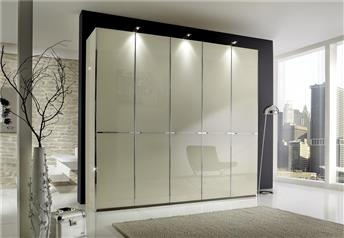 Stylform NYX - Glass/Mirror Wardrobe