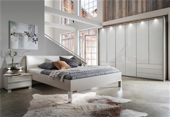 Stylform ALTHEA* 200 cm wardrobe* bi-fold doors bedroom set - choice of finish,